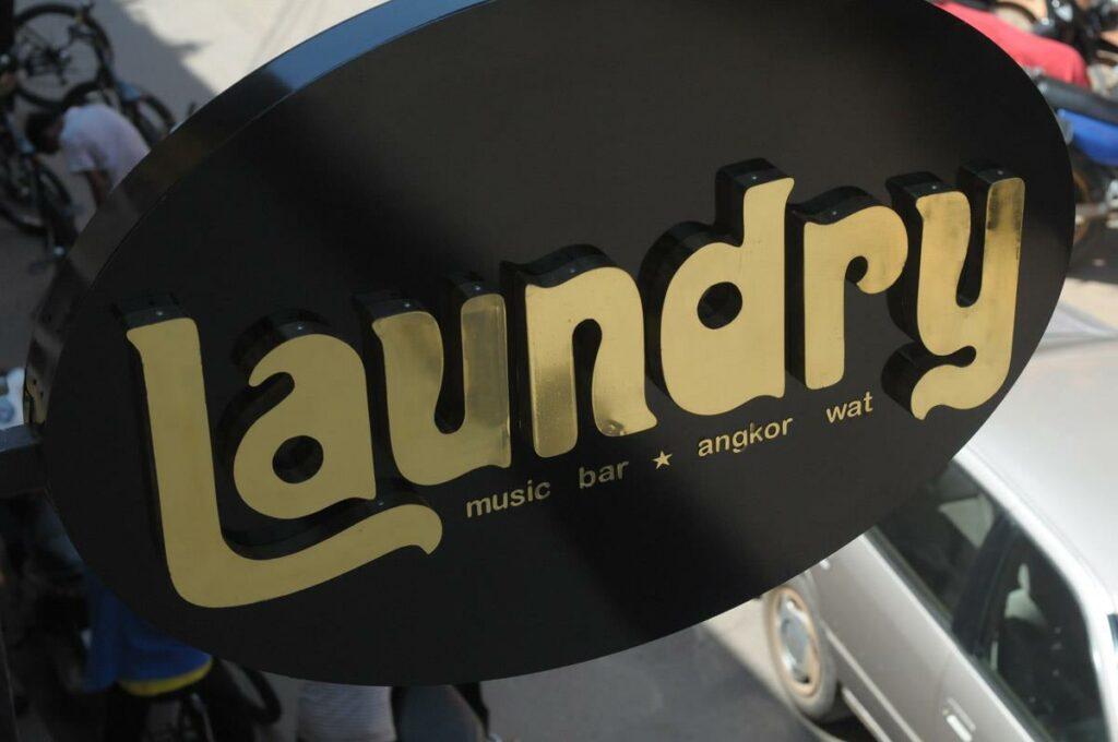 Laundry Bar, Siem Reap, Cambodia