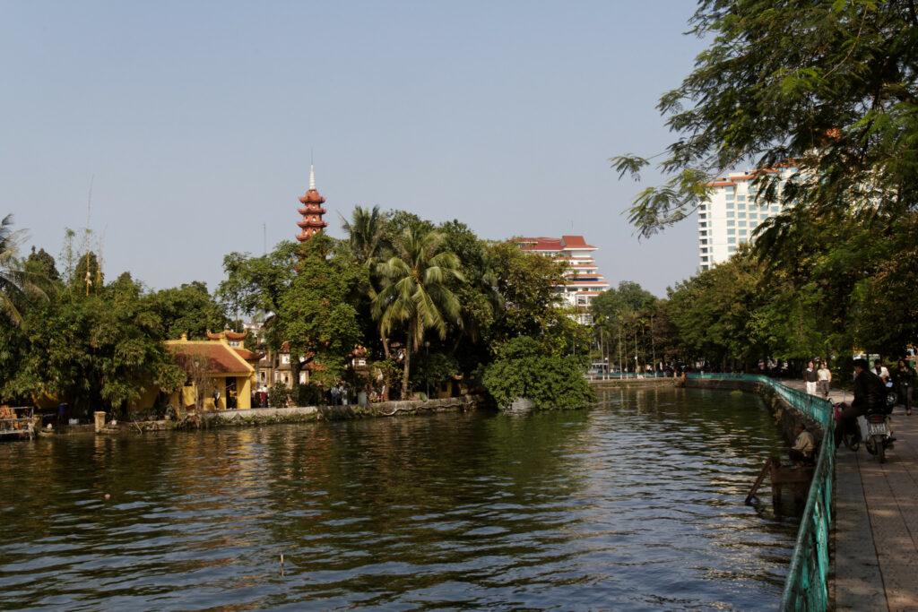 Hồ Tây, Hanoi, Vietnam