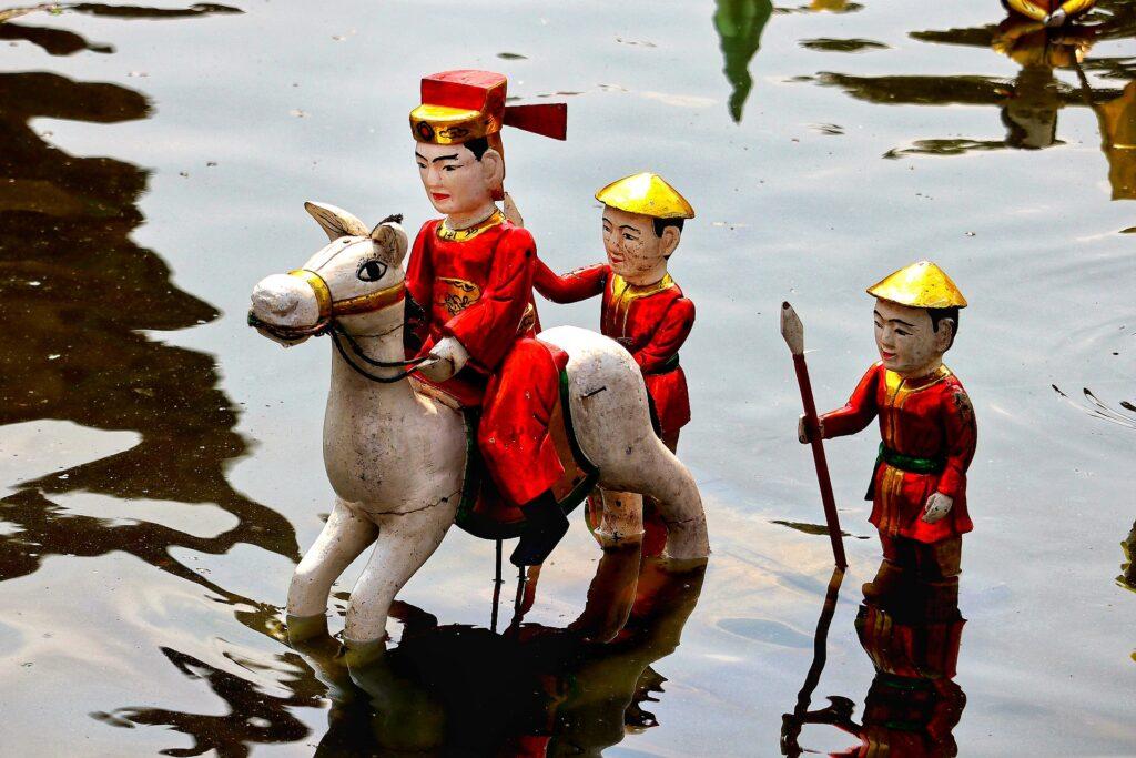 Golden Dragon Water Puppet Theater, Saigon, Vietnam