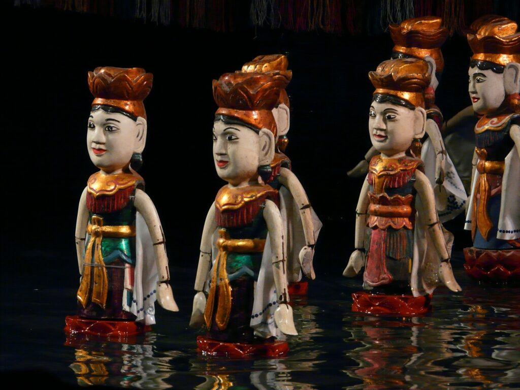 Thăng Long Water Puppets, Hanoi, Vietnam